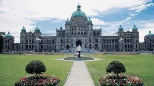 Здание парламента Британской Колумбии